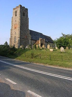 Shadingfield - Image: Shadingfield Church of St John the Baptist