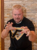 Shane Douglas at Alpha-10 April 2016.jpg