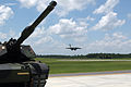 Shelby Auxiliary Field 1 2007-07-09 with tank and C-17.jpg