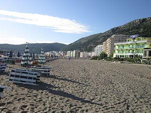 Shëngjin - Shëgjin beach
