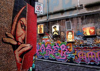 street art in melbourne wikipedia