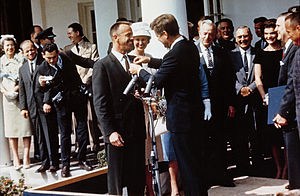 Shepard receives medal
