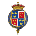 Shield of arms of Dudley Ryder, 2nd Earl of Harrowby, KG, PC, FRS.png