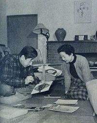 Shimizu Masao and Takano Yumi.JPG