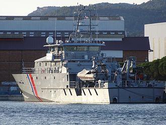 Jean-François Deniau - Patrol vessel named in 2015 after Jean-François Deniau.