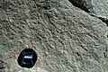 Ship Rock's southern dike (Oligocene; Navajo Volcanic Field, northwestern New Mexico, USA) 3 (29472580091).jpg