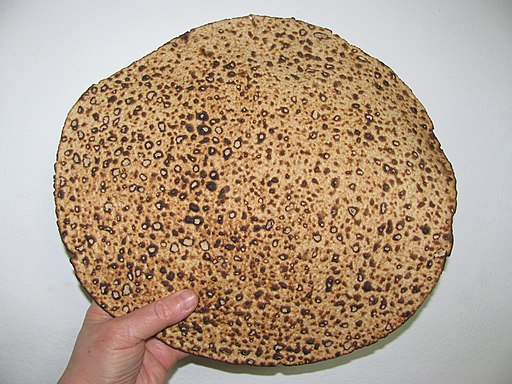 Handmade Matza bread