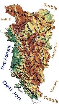 Velika Albaniјa Vikipediјa Slobodna Enciklopediјa