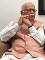 Shri L.K. Advani and paid tributes to late Smt. Kamla Advani, in New Delhi (cropped).jpg