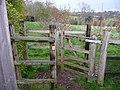 Sibford Gower, a stile or kissing gate - geograph.org.uk - 801195.jpg