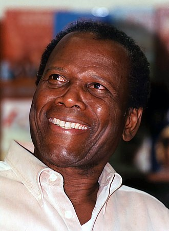 Sidney Poitier - Poitier at a book signing
