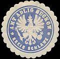 Siegelmarke Amt Adlig Suckow Kreis Schlawe W0331849.jpg