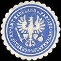 Siegelmarke Amt Radeland und Paplitz - Kreis Jüterbog - Luckenwalde W0224296.jpg