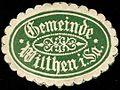 Siegelmarke Gemeinde Wilthen in Sachsen W0252592.jpg