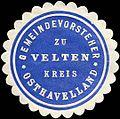 Siegelmarke Gemeindevorsteher zu Velten - Kreis Osthavelland W0224295.jpg