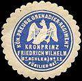 Siegelmarke Königlich Preussisches Grenadier - Regiment Kronprinz Friedrich Wilhelm (2. Schlesische) No. 11, Füsilier - Bataillon W0237987.jpg