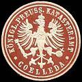 Siegelmarke Königlich Preussisches Katasteramt - Coelleda W0237348.jpg