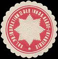 Siegelmarke K.Pr. Inspektion II der Immob. Garde-Infanterie W0337747.jpg