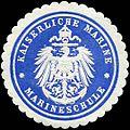 Siegelmarke Kaiserliche Marine - Marineschule W0224020.jpg