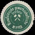 Siegelmarke Mansfeldische gewerkschaftliche Forst-Kasse Wippra W0364710.jpg
