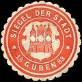 Siegelmarke Siegel der Stadt Guben 1883 W0211491.jpg