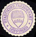 Siegelmarke Stadtschultheissenamt - Göppingen W0229208.jpg