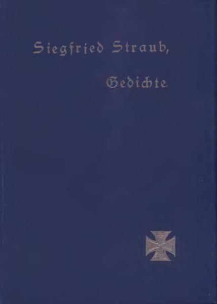File:Siegfried Straub Gedichte.djvu