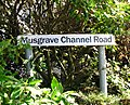 Sign, Musgrave Channel Road, Belfast - geograph.org.uk - 874532.jpg