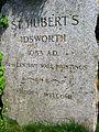 Sign for St Hubert's Chapel, Idsworth - geograph.org.uk - 838118.jpg