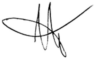 Anatoly Chubais - Image: Signature of Anatoly Chubais