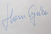 Signature of Gyula Horn.jpg