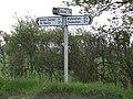 Signpost. - geograph.org.uk - 170001.jpg