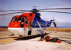 Canadian Helicopters - Image: Sikorsky S 61L01