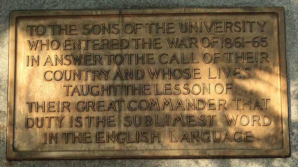 Silent Sam plaque inscription, right side (cropped).jpg