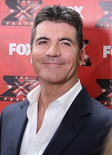 Simon Cowell English reality television judge, television producer and music executive