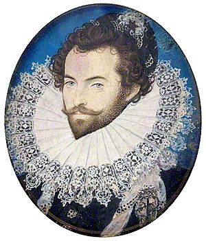 John White (colonist and artist) - White's patron, Sir Walter Raleigh