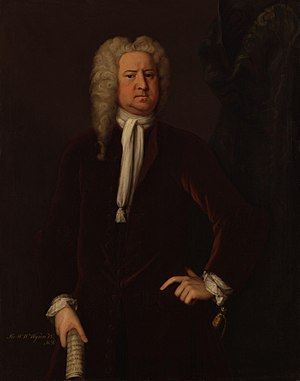 British general election, 1741 - Image: Sir Watkin Williams Wynn, 3rd Bt by Michael Dahl