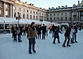 Skaters in the Strand - at Somerset House - geograph.org.uk - 1600020.jpg
