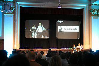 Skepticality - Image: Skepticality Podcast wins Ockham Award QED 2014