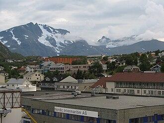 Skjervøy - Image: Skervoytown 2