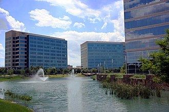 Plano, Texas - Granite Park in May 2011