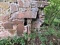 Slatehole Lodge, Auchinleck Estate, East Ayrshire - old fireplace remnants.jpg