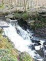 Smaller falls above Black Spout - geograph.org.uk - 773877.jpg