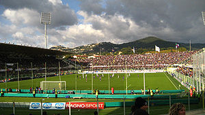 Stadio Artemio Franchi - Image: Soccer in Florence, Italy, 2007