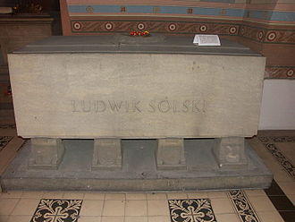 Ludwik Solski - Solski's final resting place, in the Crypt of the Distinguished in the Na Skałce church