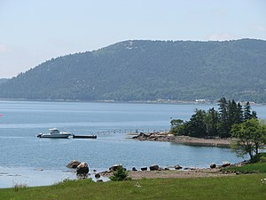 Fjard - The fjard of Somes Sound, Maine