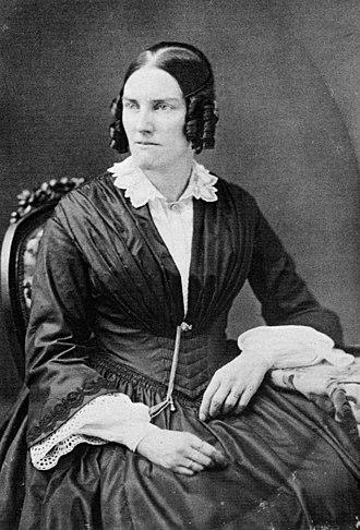 Samuel Francis Du Pont - Sophie Madeleine du Pont, in a photograph by Mathew Brady