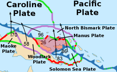 The South Bismark Plate
