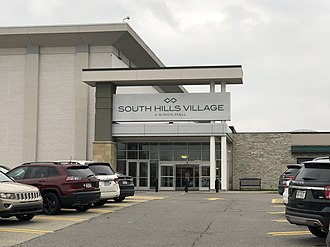 South Hills Village - Image: South Hills Village Mall