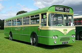 Southdown Motor Services - A now preserved Leyland Leopard, previously run by Southdown as fleet number 122.